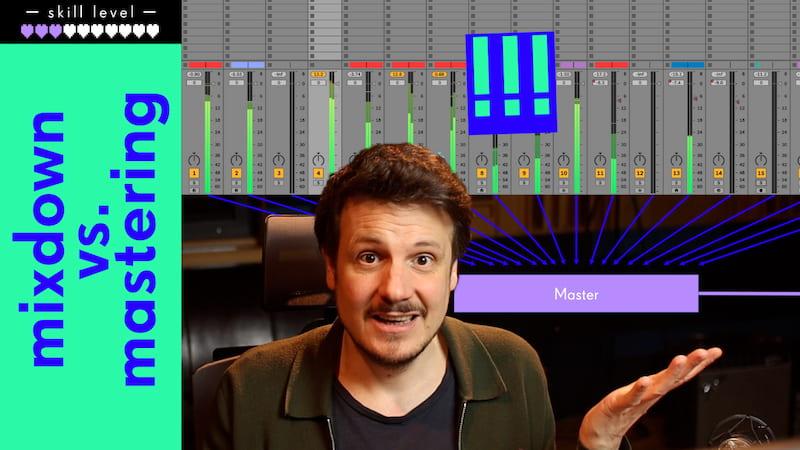 Mastering und Mixing – Was ist eigentlich der Unterschied? (Und Wieso Mastering nicht die Lösung deiner Probleme ist!)